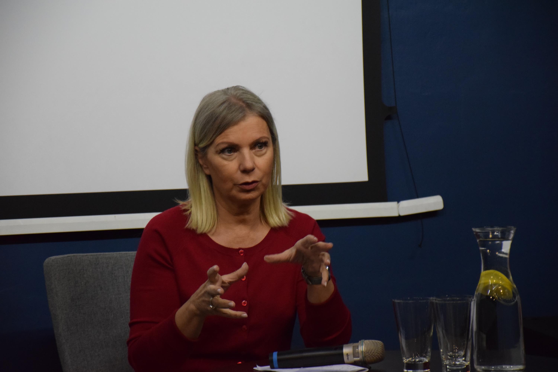 E. Bieńkowska w Andrychowie: rozpowszechnia się zasada, że nie trzeba pracować żeby mieć pieniądze