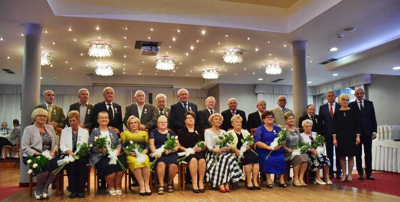 50-lecie pożycia małżeńskiego par z gminy Andrychów [FOTO]