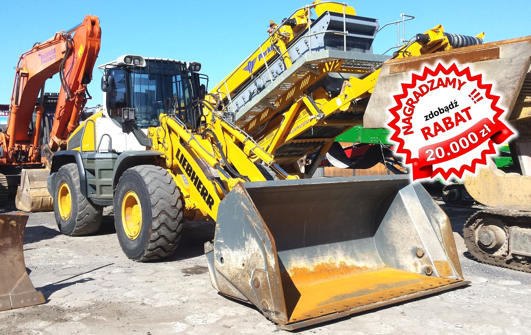 Mega rabaty dla TOPowych Klientów firmy oferującej światowej klasy maszyny budowlane!