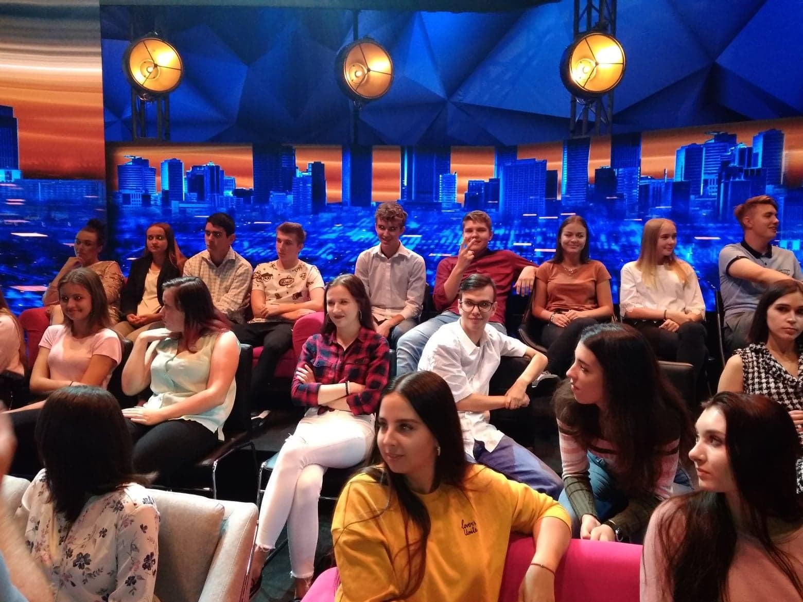 Uczniowie Kotarbina na nagraniach programu