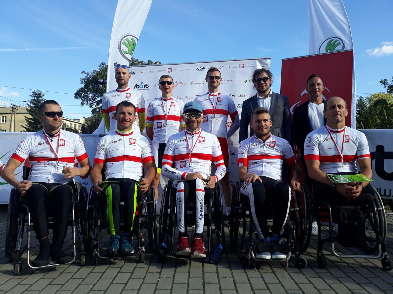 Niepełnosprawni kolarze walczyli o medale Mistrzostw Polski [FOTO]
