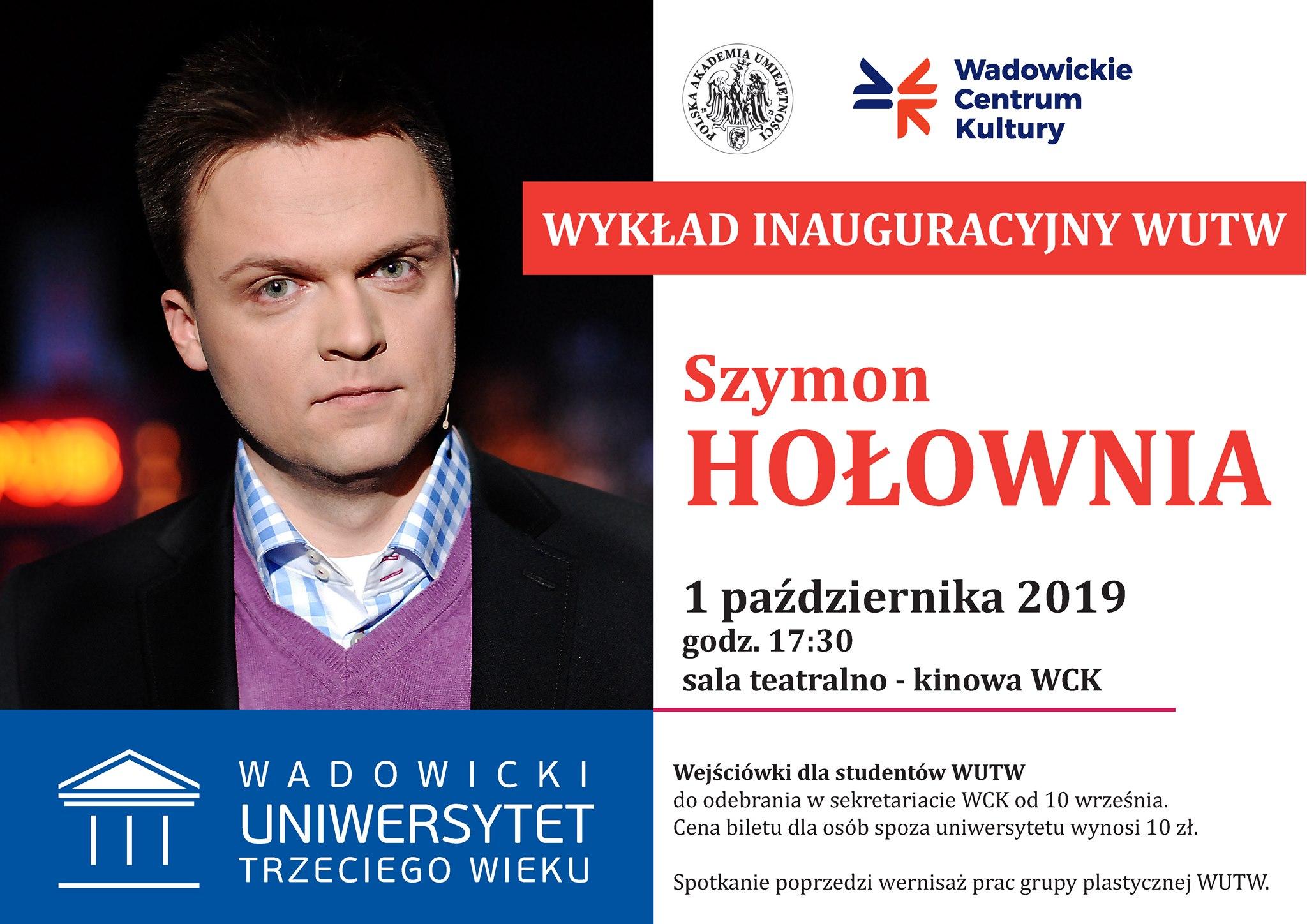 Szymon Hołownia gościem w centrum kultury