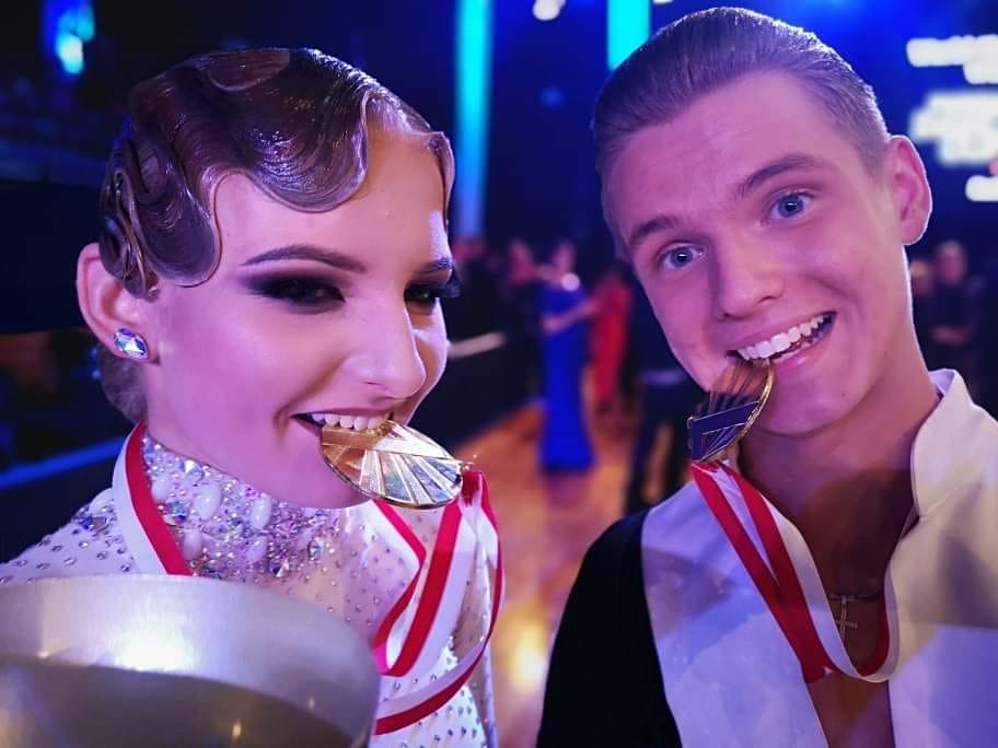 Wojciech Kuźma z Kęt wraz z Darią Nowak zostali Mistrzami Świata w 10 tańcach!