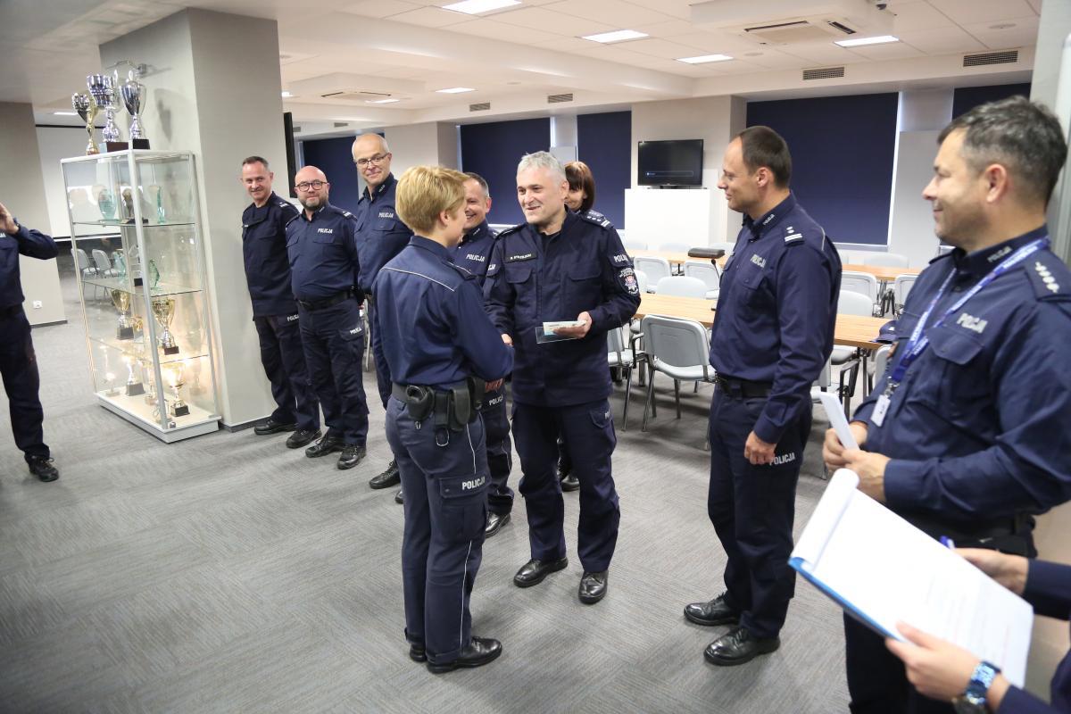 Policjantka z Kęt najlepsza w Małopolsce