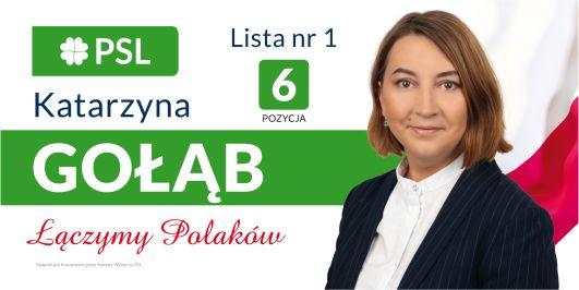 Katarzyna Gołąb - kandydatka do Sejmu