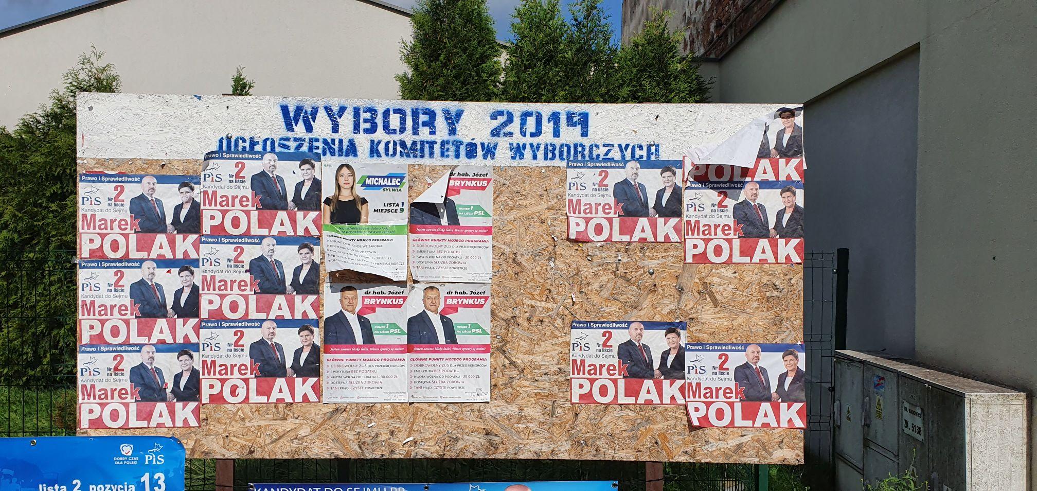 Tak wyglądała ta kampania. Lista wszystkich kandydatów