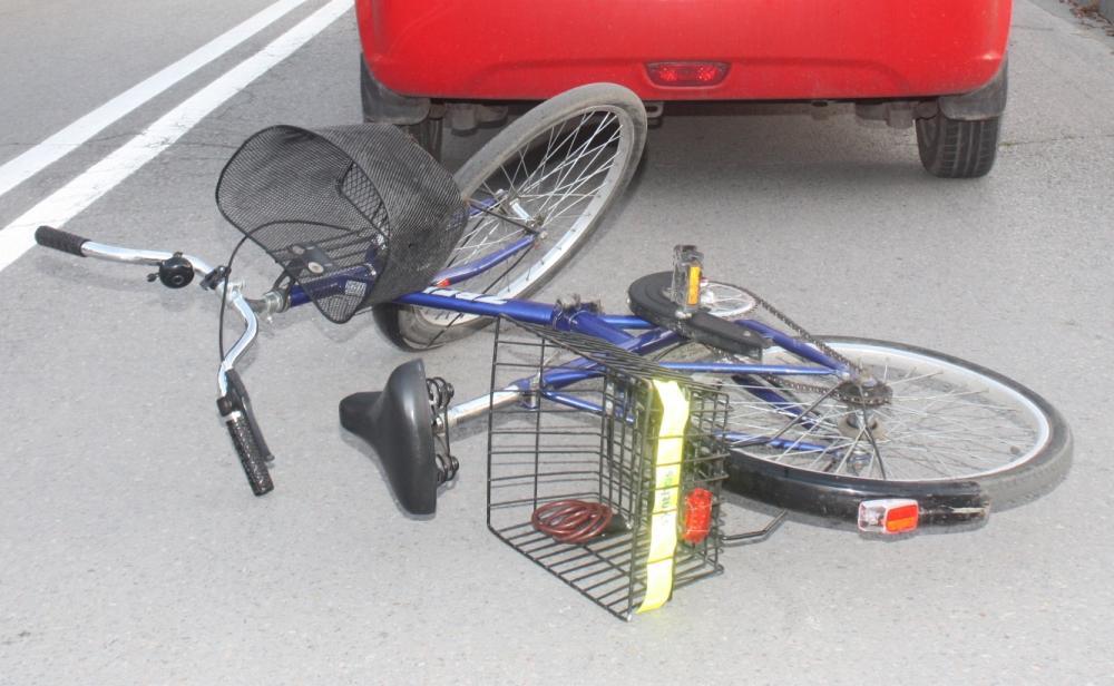 Kolizja z udziałem pijanej rowerzystki
