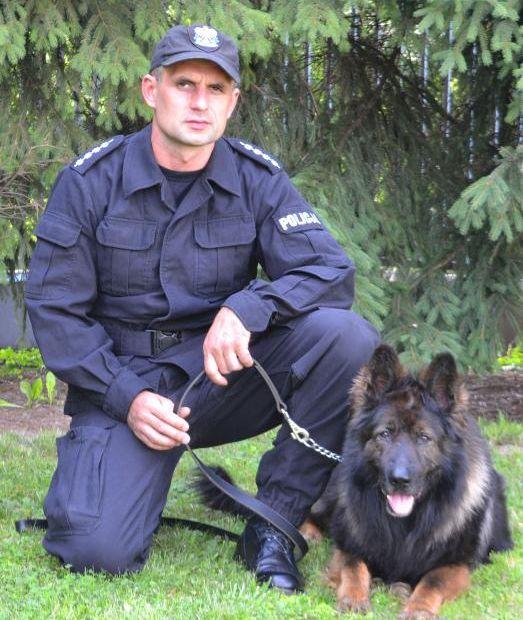 Policyjny pies doprowadził do włamywacza