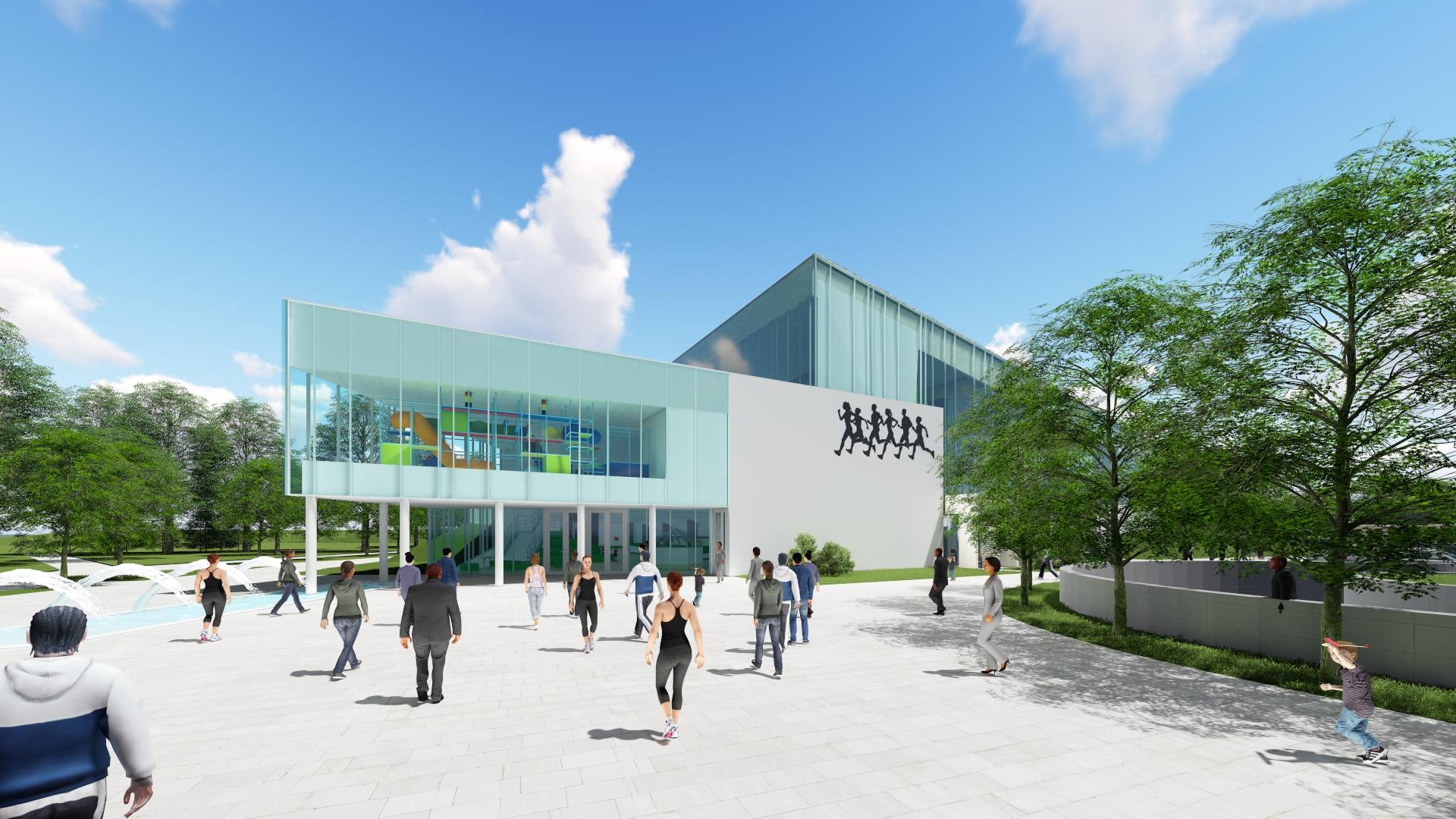 Tak będzie wyglądała hala sportowa, która ma powstać za kilka lat w Andrychowie