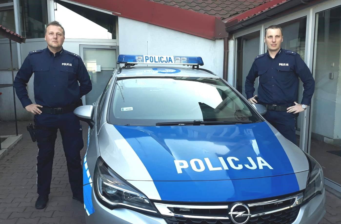 Policjanci z Andrychowa uratowali mężczyznę, który chciał popełnić samobójstwo
