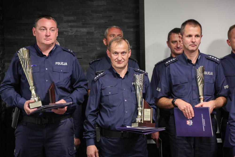 Policjant z Andrychowa trzeci w Małopolsce