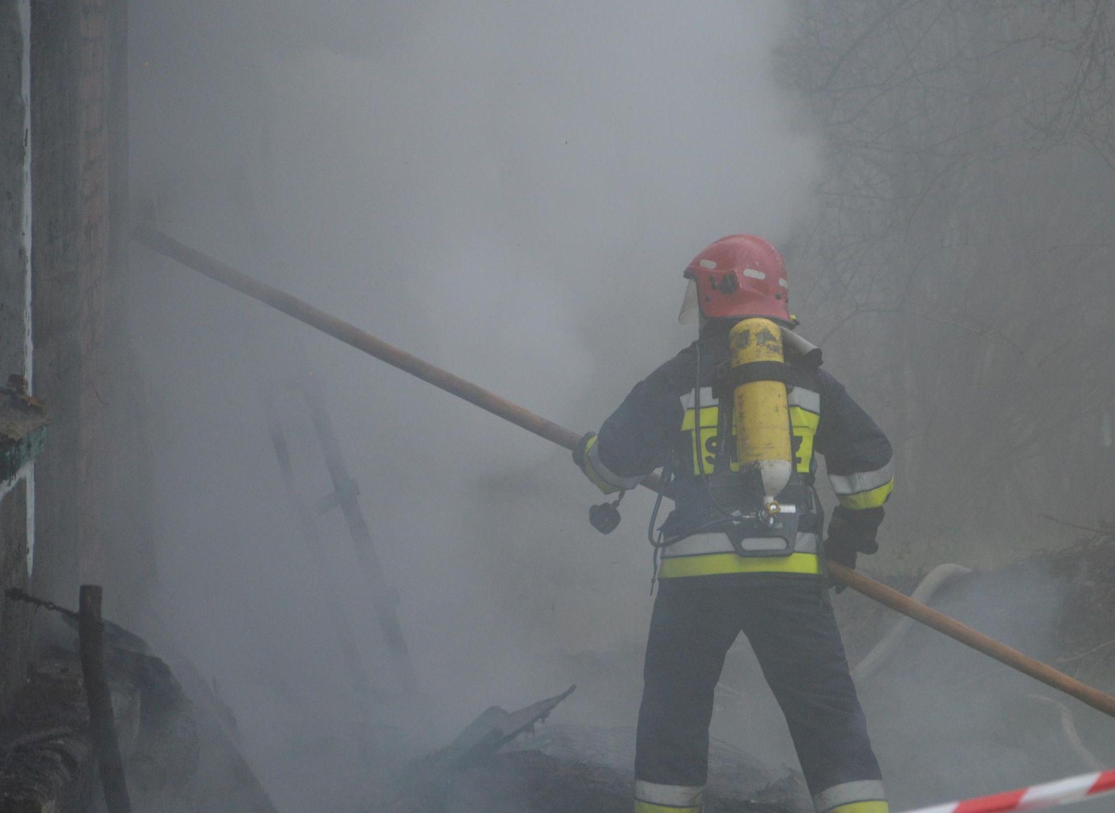 Jest praca w straży pożarnej!