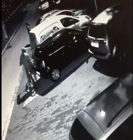 Tak okradają samochody w Andrychowie [VIDEO]