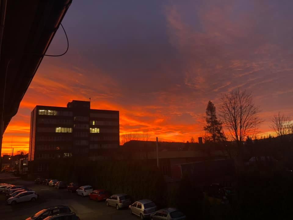 Zjawiskowy wschód słońca [FOTO]