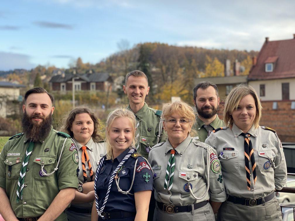 Hufiec ZHP Andrychów ma nowe władze