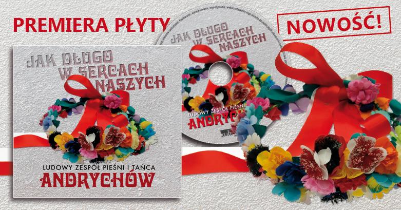 Premiera płyty zespołu ANDRYCHÓW już w najbliższy piątek!