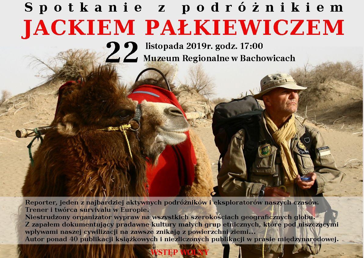 Spotkanie z podróżnikiem Jackiem Pałkiewiczem