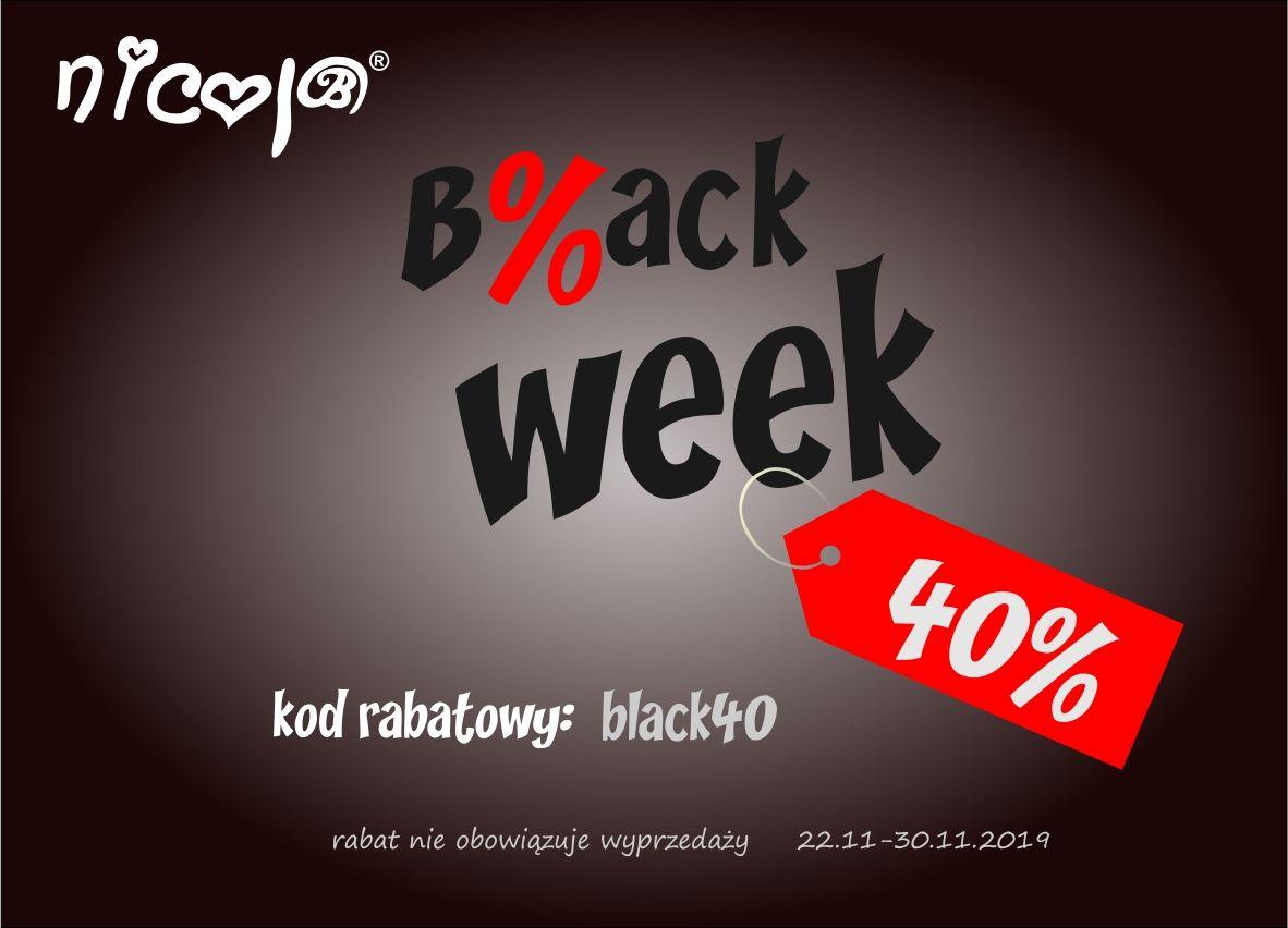 Black Week - PRODUCENT UBRANEK DZIECIĘCYCH OSZALAŁ! - 40% rabat!