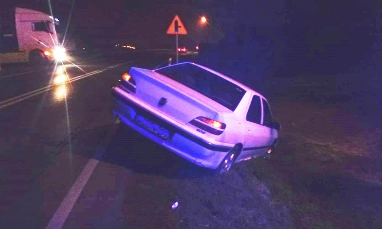 Zatrzymany kierowca był poszukiwany listem gończym, jest podejrzany o jazdę po pijaku i ucieczkę
