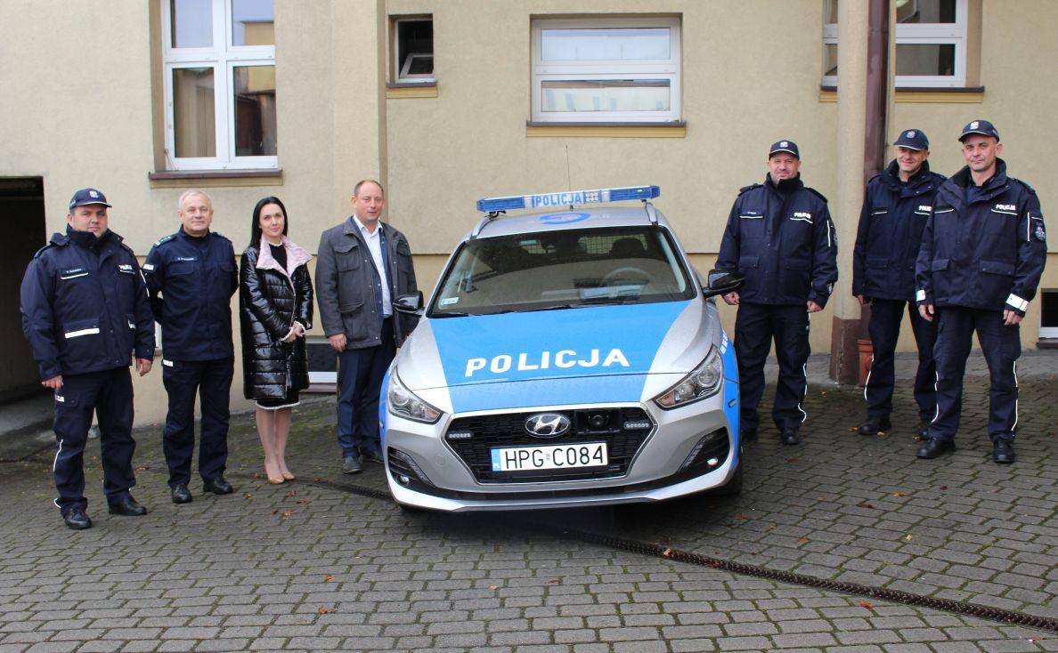 Nowy radiowóz dla kęckiej policji