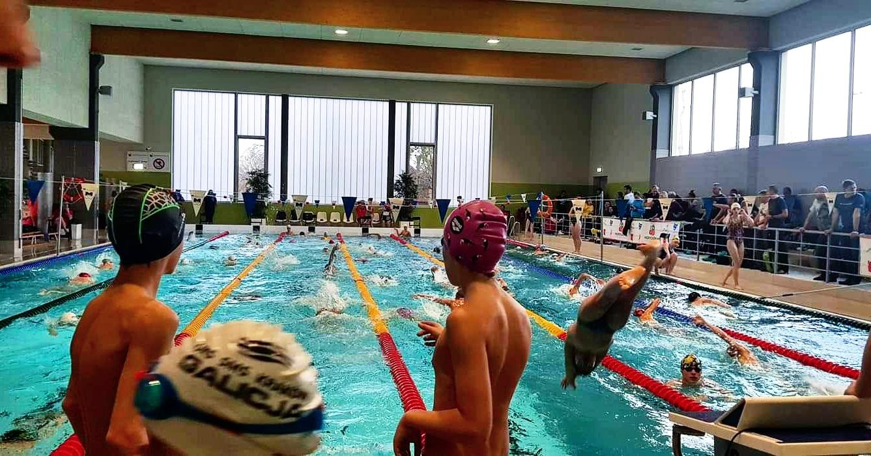 Pierwsze zawody na nowym basenie w Andrychowie [FOTO]