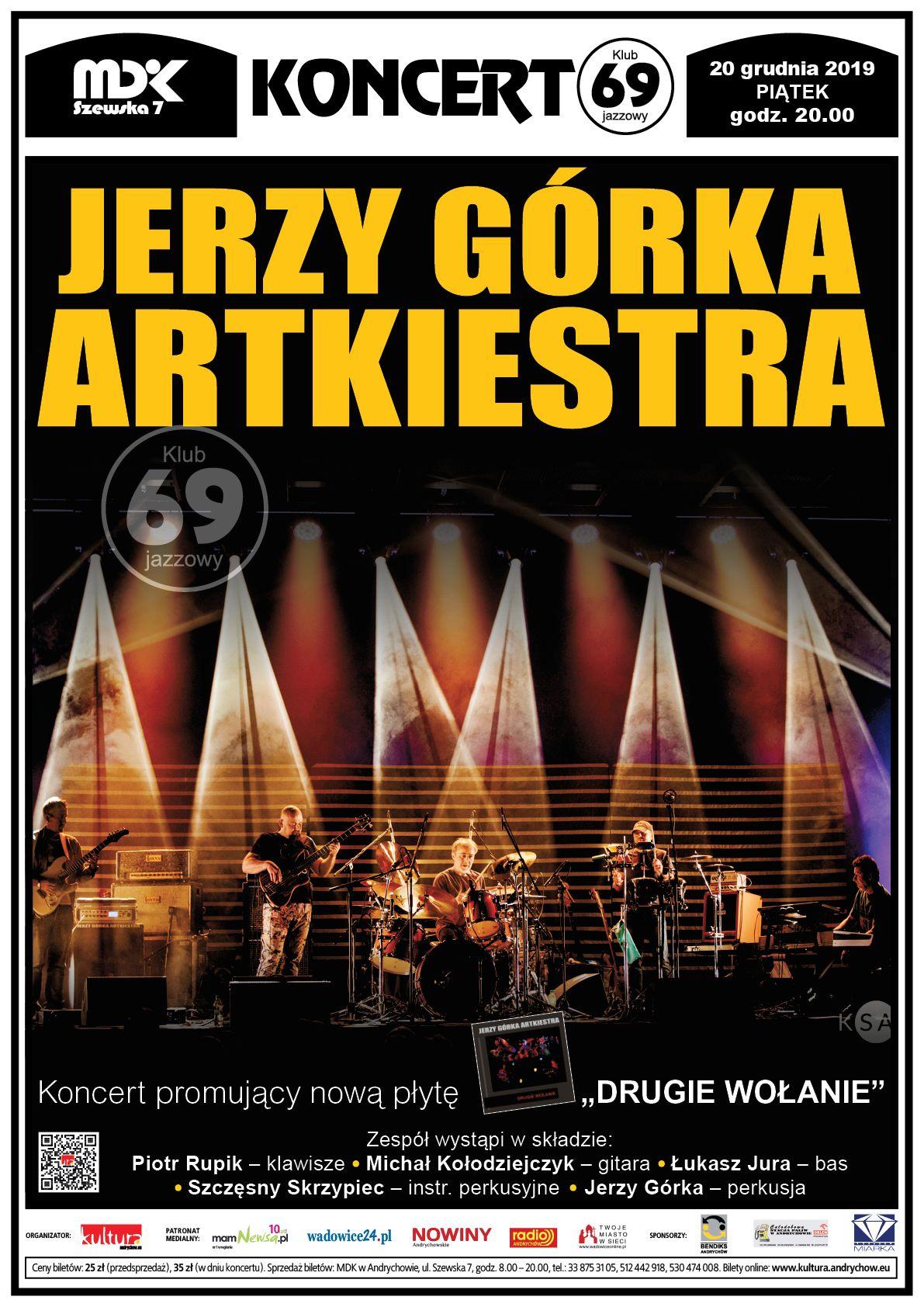 Jerzy Górka ARTKIESTRA - koncert w Andrychowie