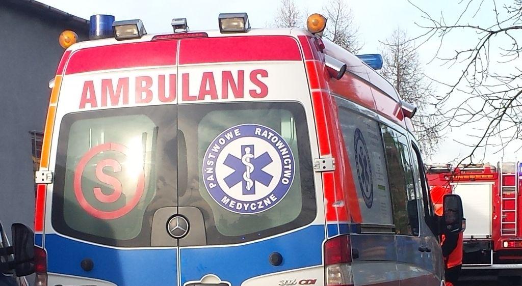Dwie osoby trafiły do szpitala po zatruciu czadem
