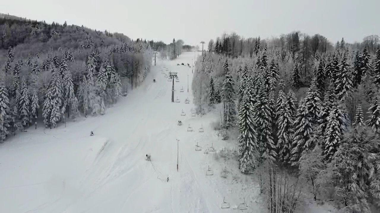 Inauguracja sezonu narciarskiego na Czarnym Groniu [VIDEO]