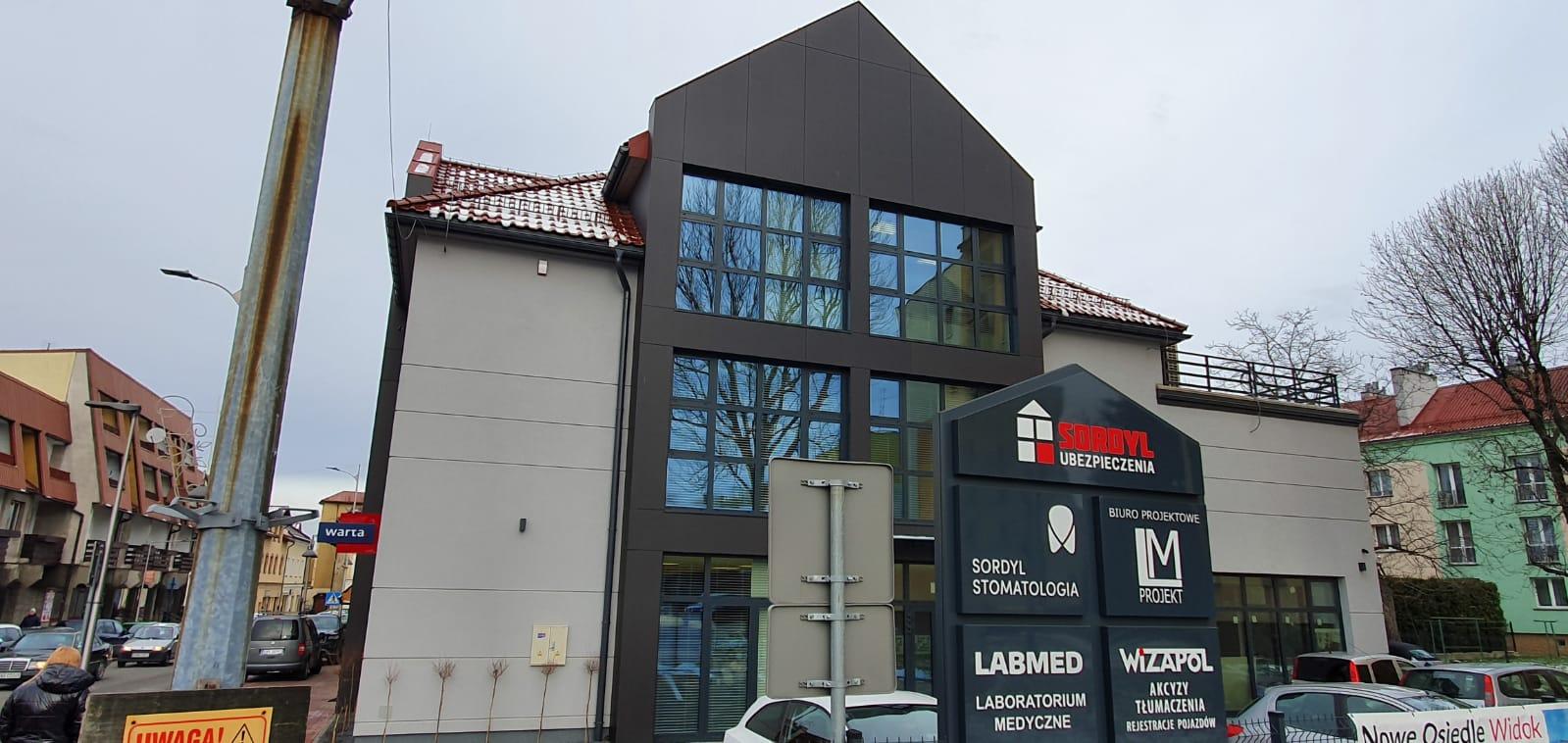 Punkt pobrań Laboratorium LABMED w nowej lokalizacji w Andrychowie