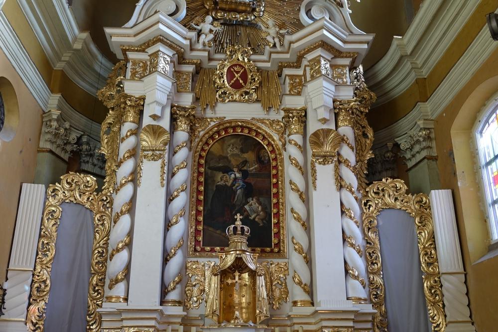 Barokowy kościół patrona Kęt zmienia swoje oblicze