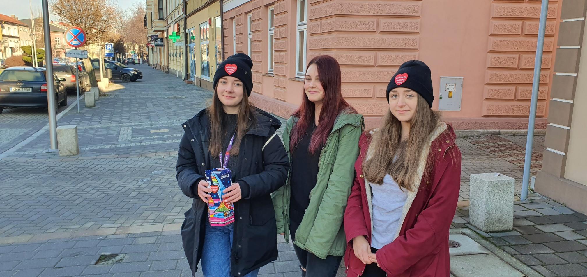 Na ulicach można spotkać wolontariuszy WOŚP
