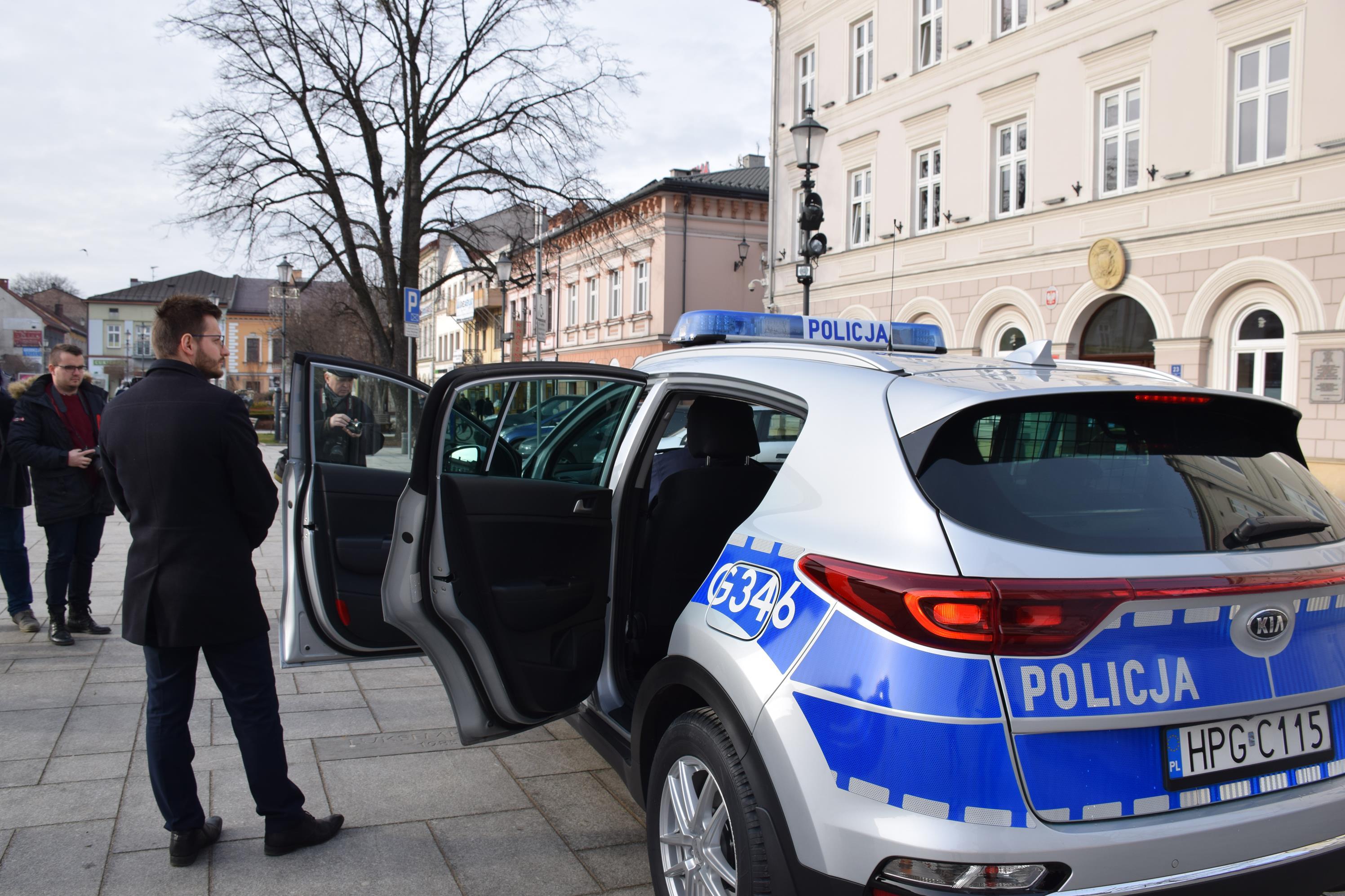 KIA SPORTAGE nową bryką wadowickich policjantów
