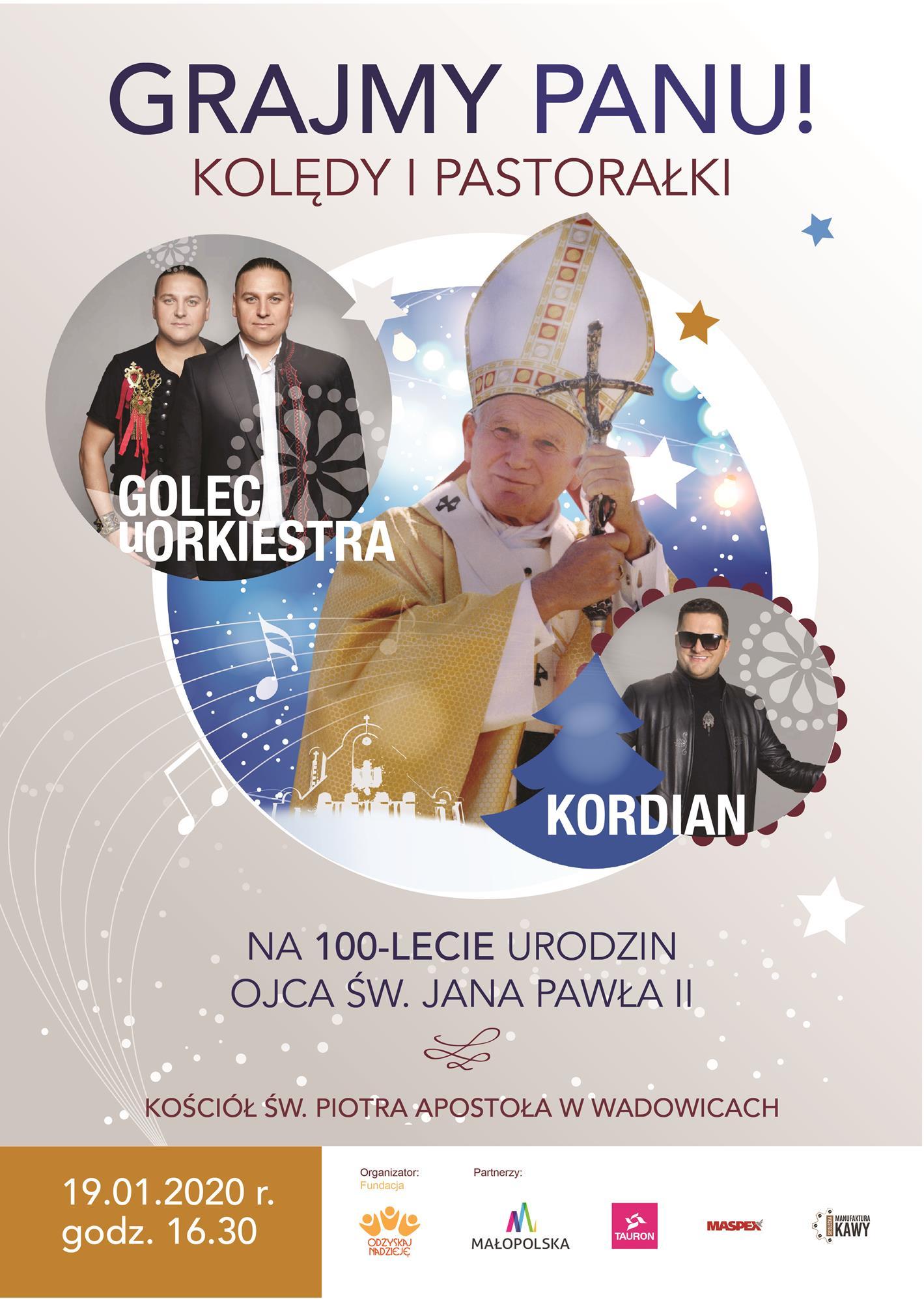 Szykuje się specjalny koncert w kościele z okazji 100 – lecia urodzin papieża