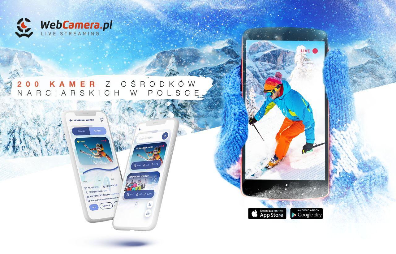 Premiera nowej aplikacji dla fanów sportów zimowych WebcameraSki