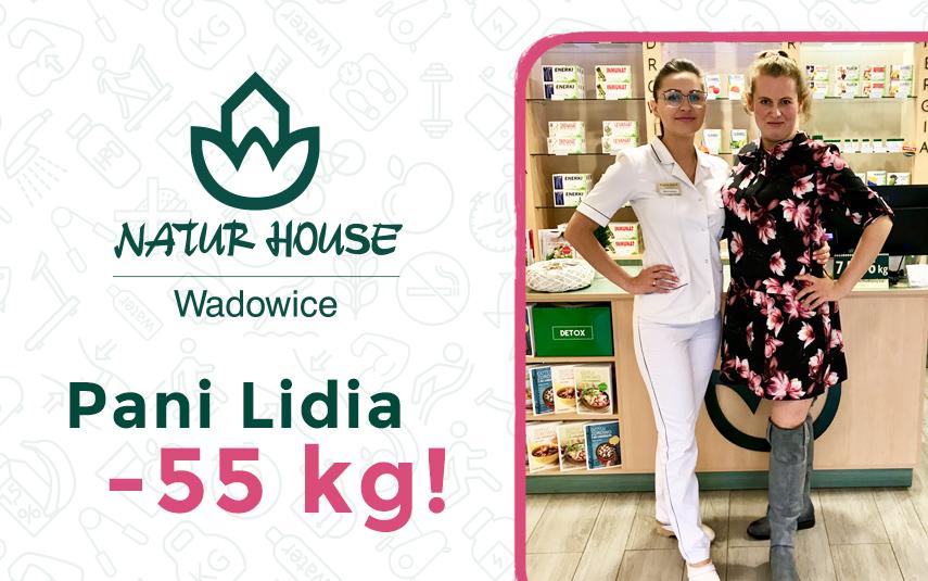 Kolejna spektakularna metamorfoza w Naturhouse Wadowice! Pani Lidia schudła 55 kg!
