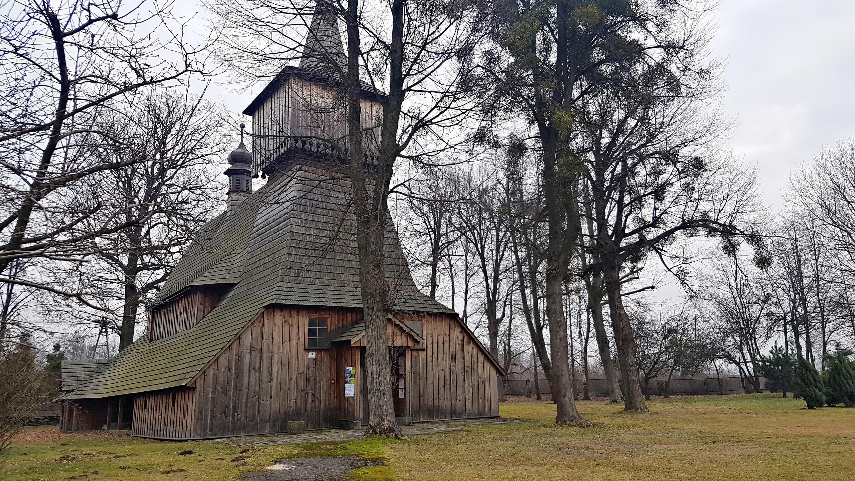 Z cyklu zabytki naszego regionu: drewniany kościół w Nidku