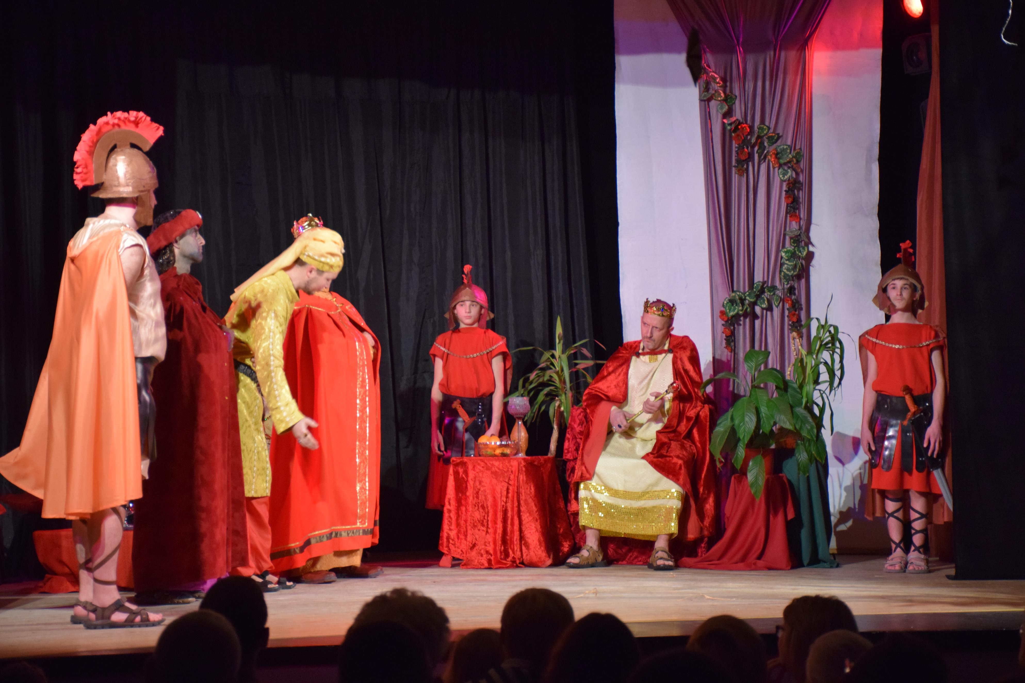 To było niesamowite! Jasełka w Wiejskim Domu Kultury w Targanicach