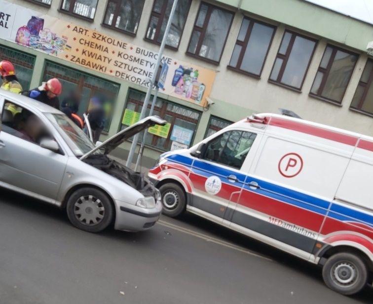 Wypadek w Andrychowie [FOTO] [AKTUALIZACJA]
