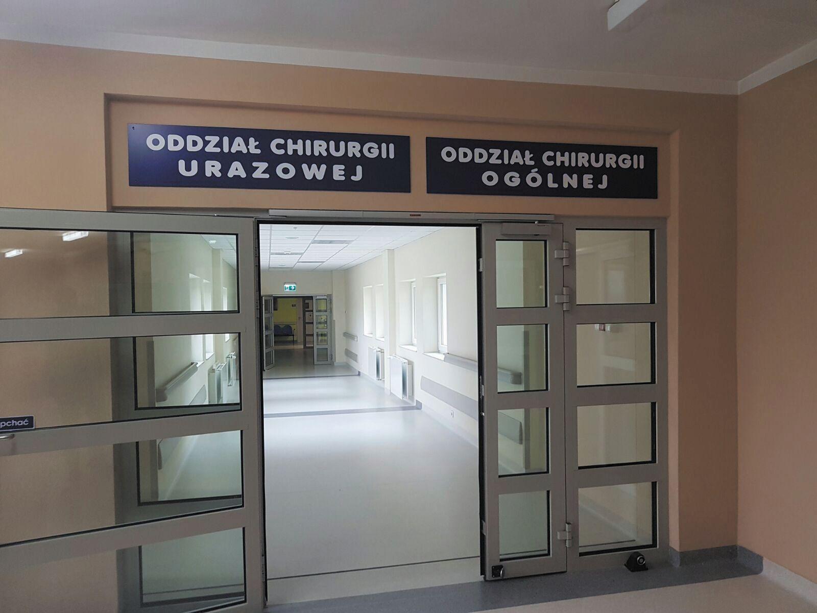 Szpital wprowadza ograniczenia odwiedzin pacjentów