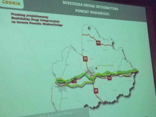 Platforma chce 100 mln zł na budowę Beskidzkiej Drogi Integracyjnej