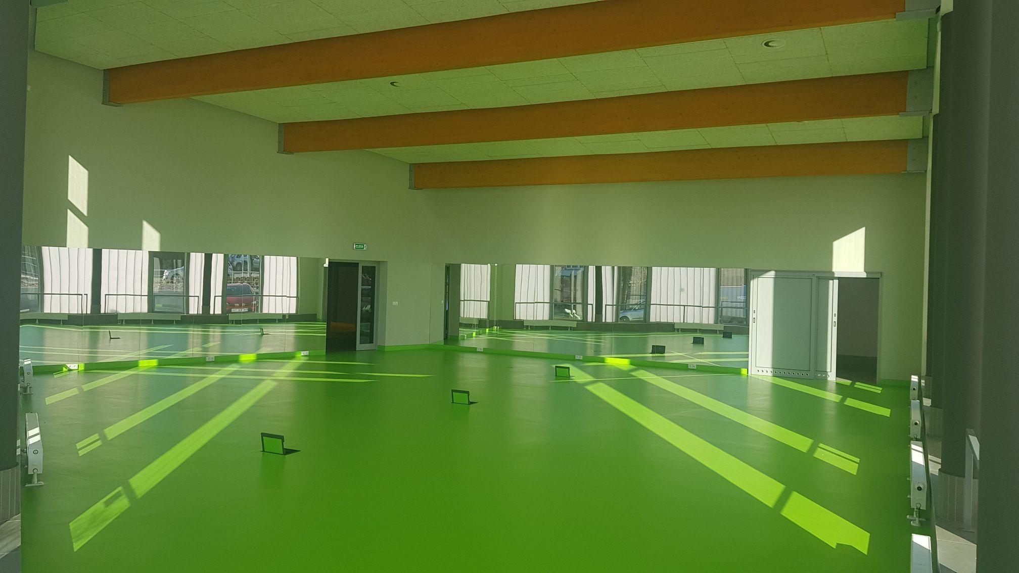 Strefa fitness na basenie w Andrychowie do wynajęcia
