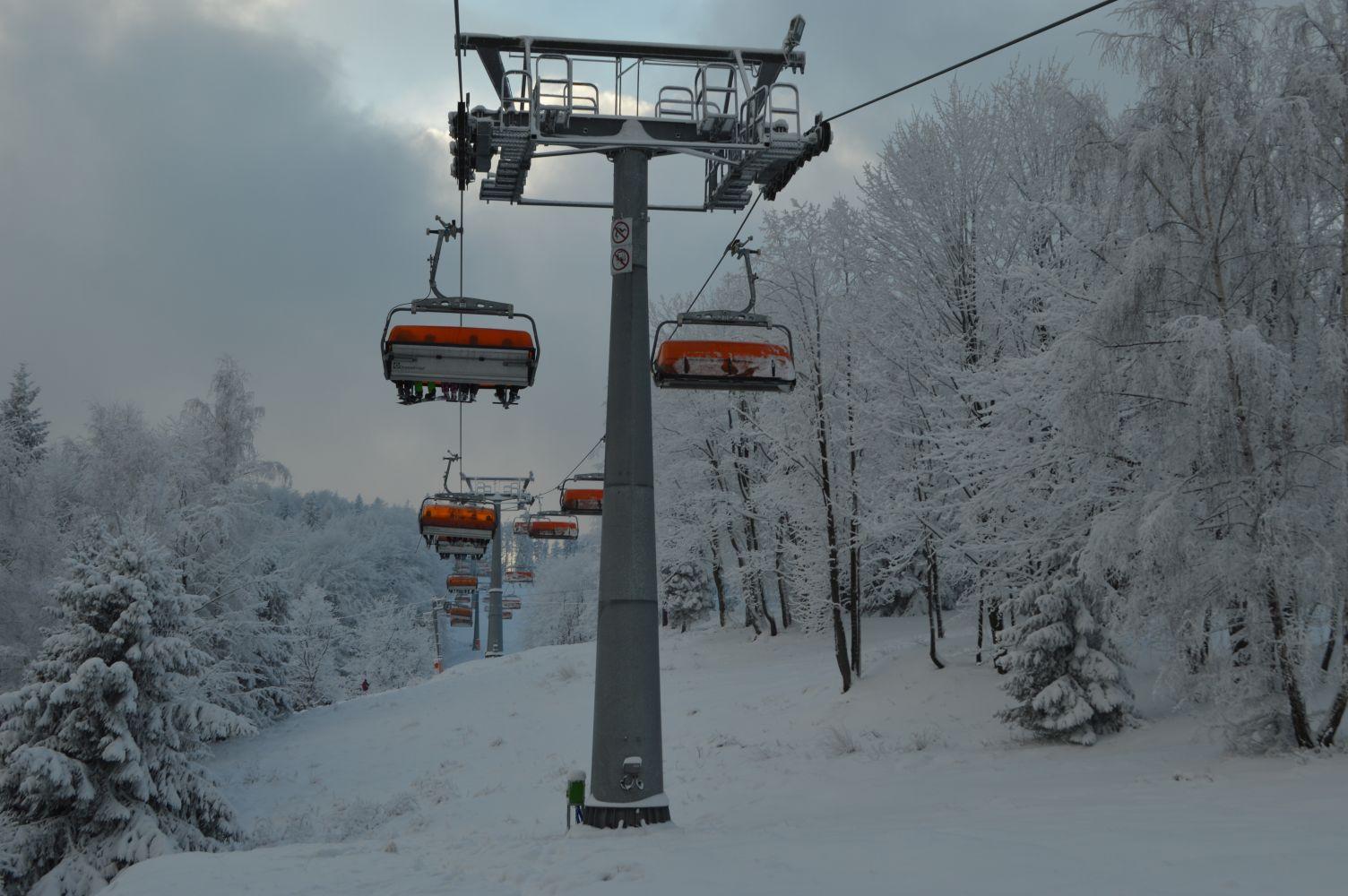 Dobre informacje dla narciarzy. Rusza górny wyciąg na Czarnym Groniu