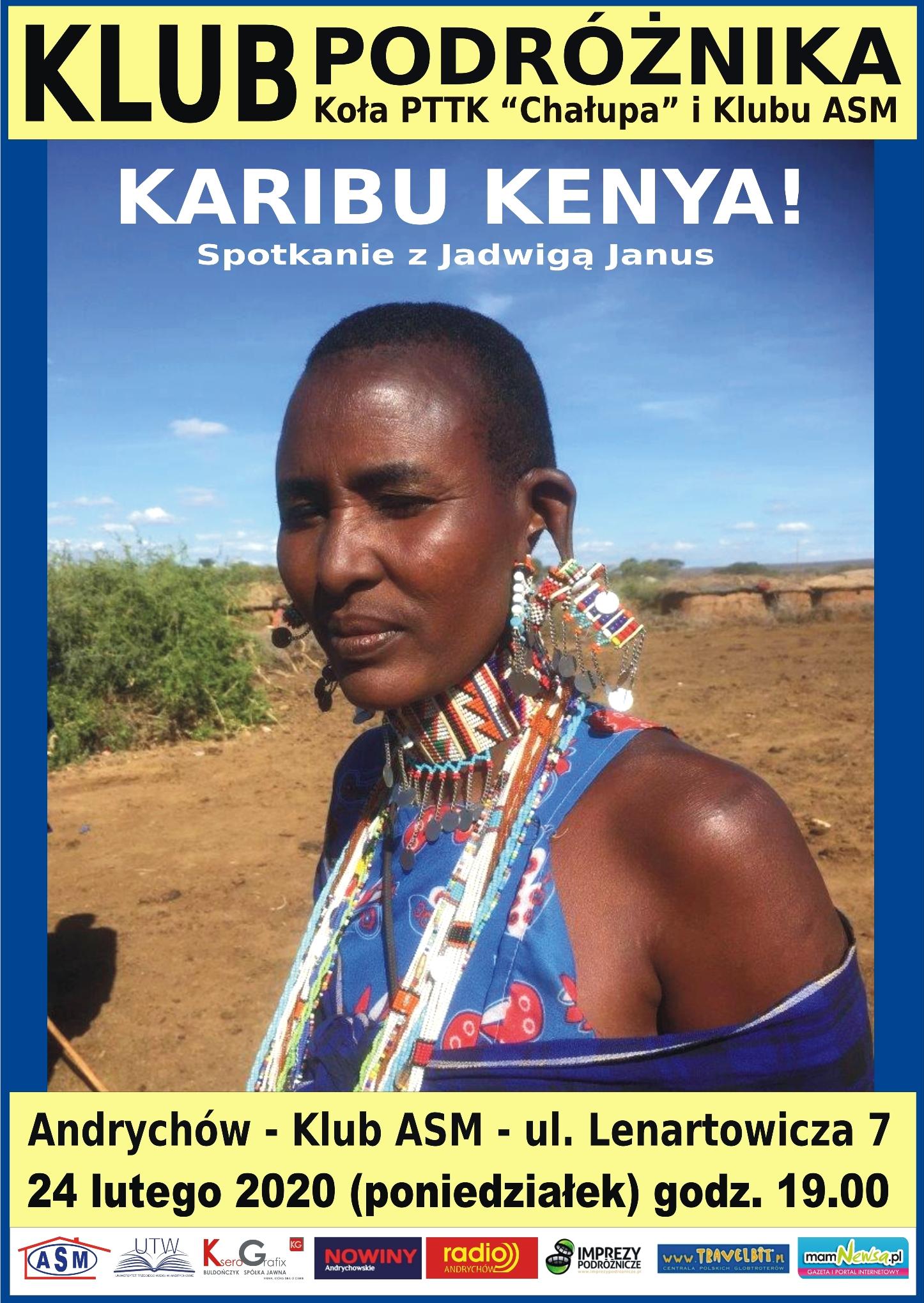 Tym razem o Kenii w Klubie Podróżnika