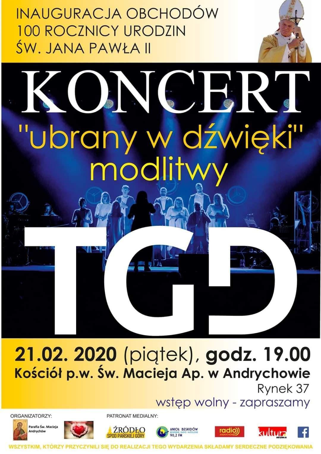 W piątek wieczorem koncert w kościele