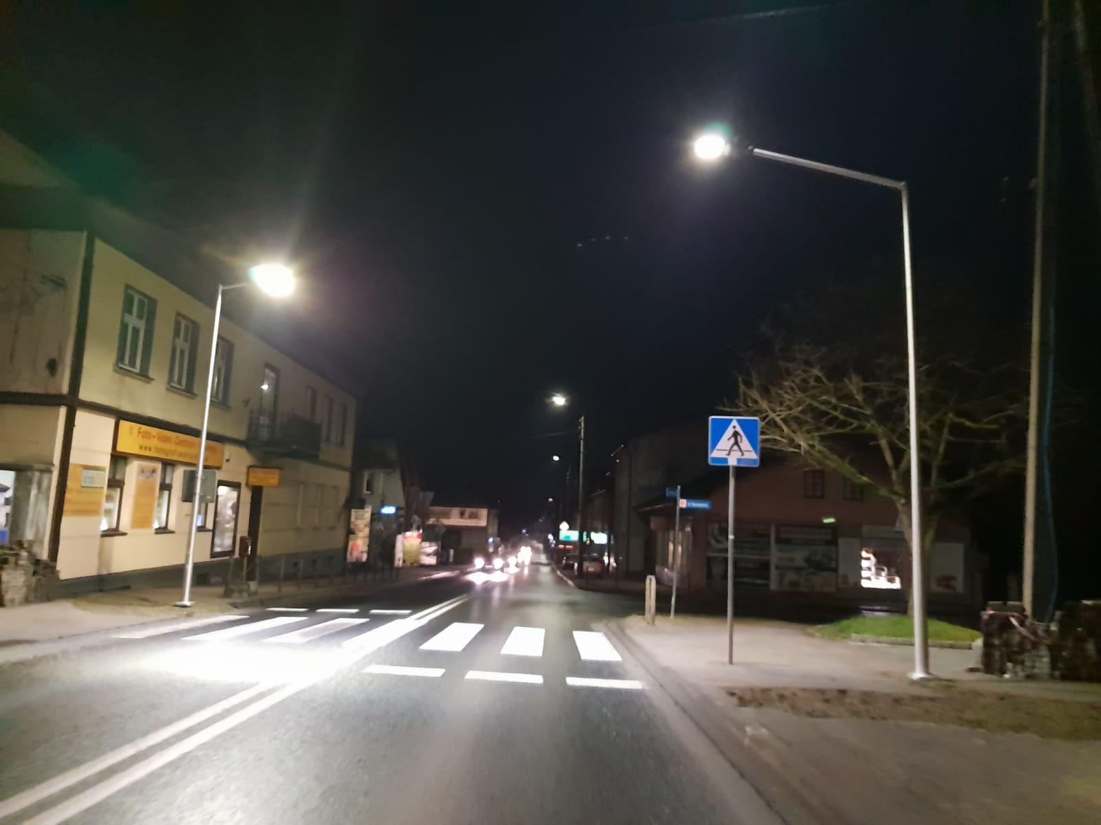 Porządne oświetlenie wybudowane zostanie na kolejnych przejściach dla pieszych