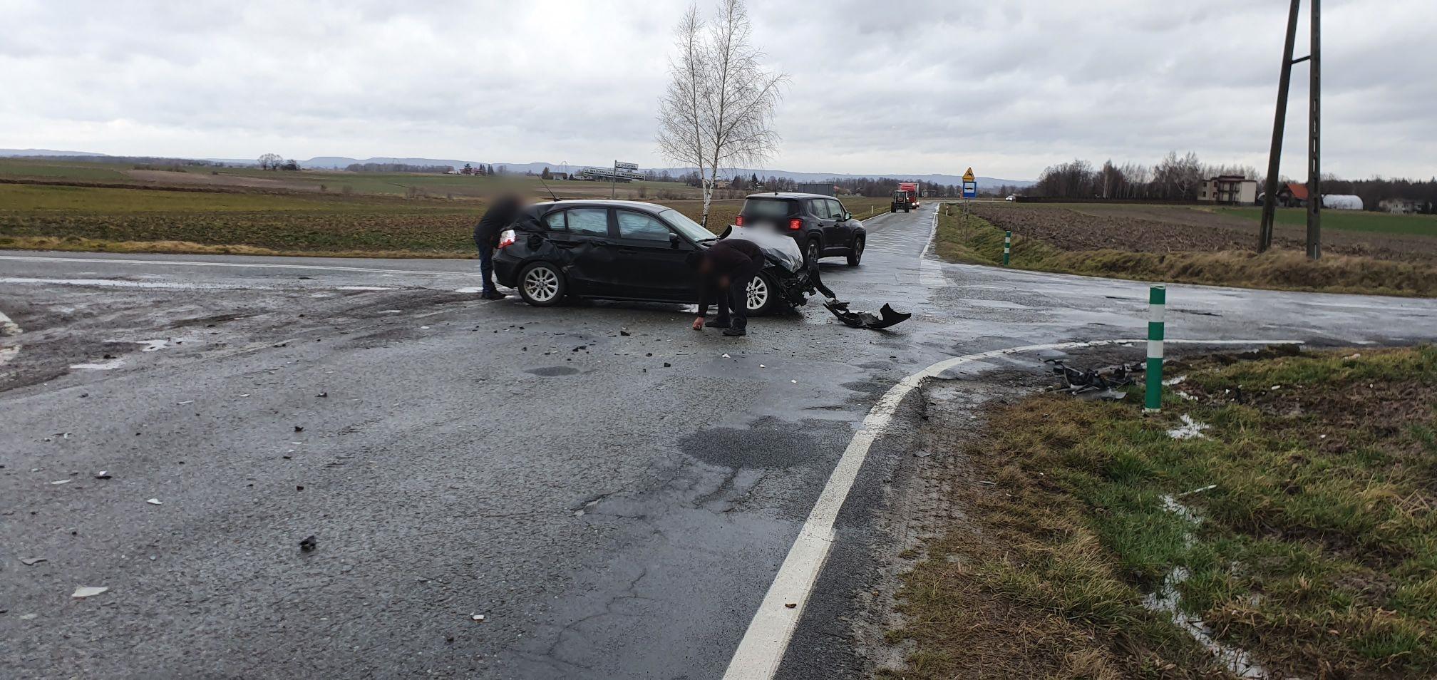 Kolejna stłuczka na skrzyżowaniu w Gierałtowicach