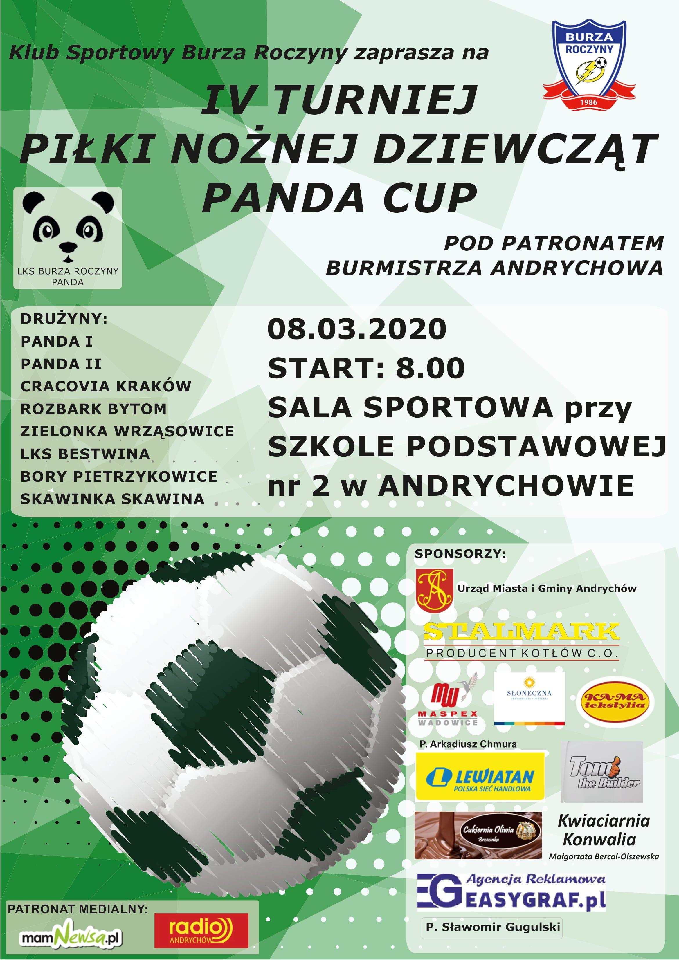 Turniej żeńskiej piłki nożnej na Dzień Kobiet