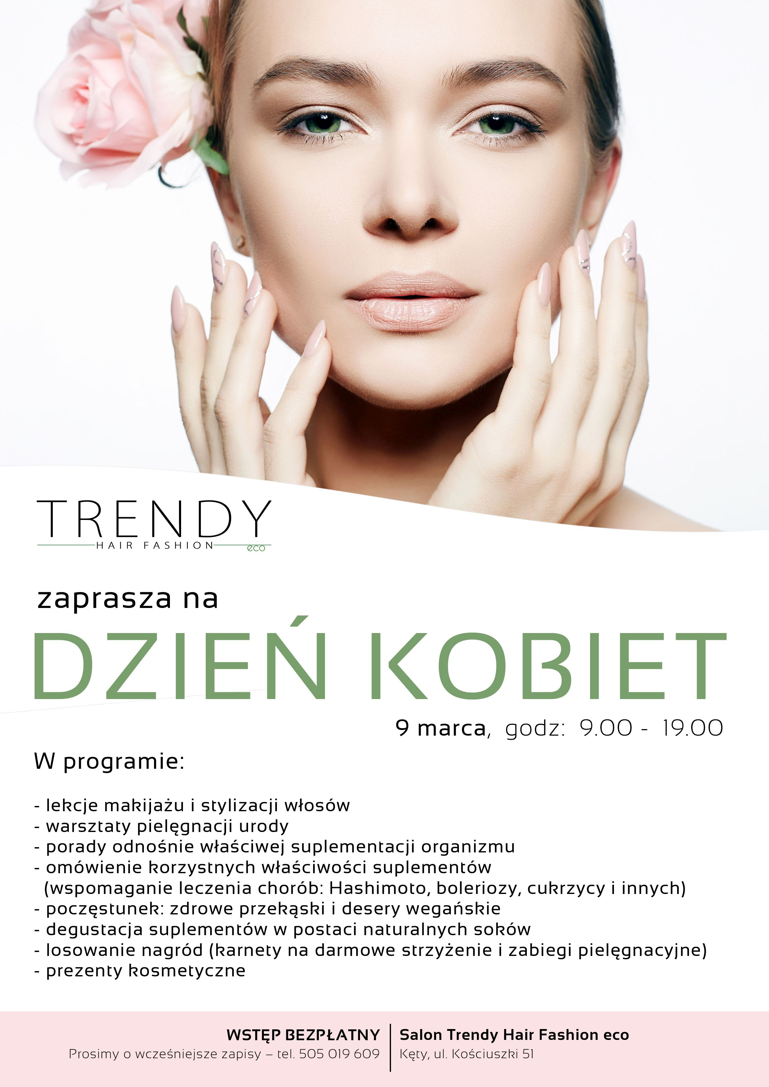Trendy Hair Fashion eco w Kętach. KONKURS