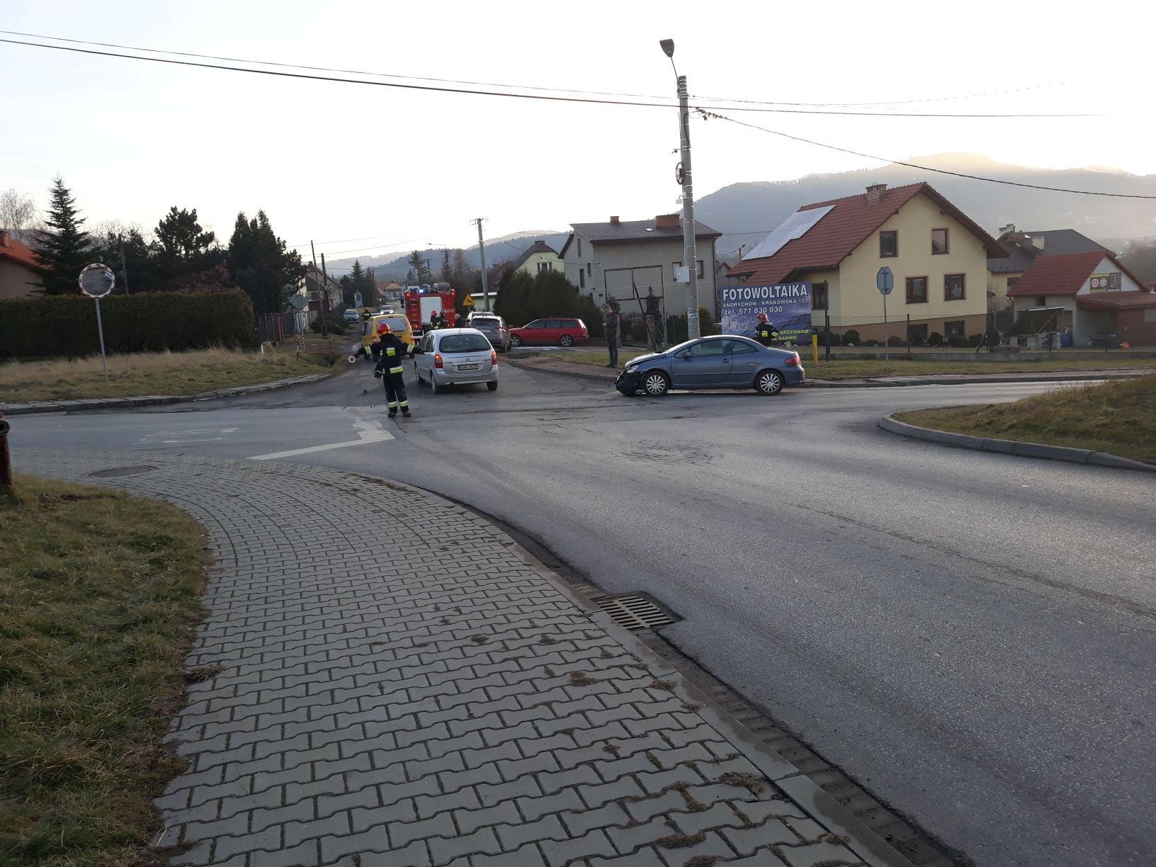 Nowy pomysł na kolizyjne skrzyżowanie w Andrychowie