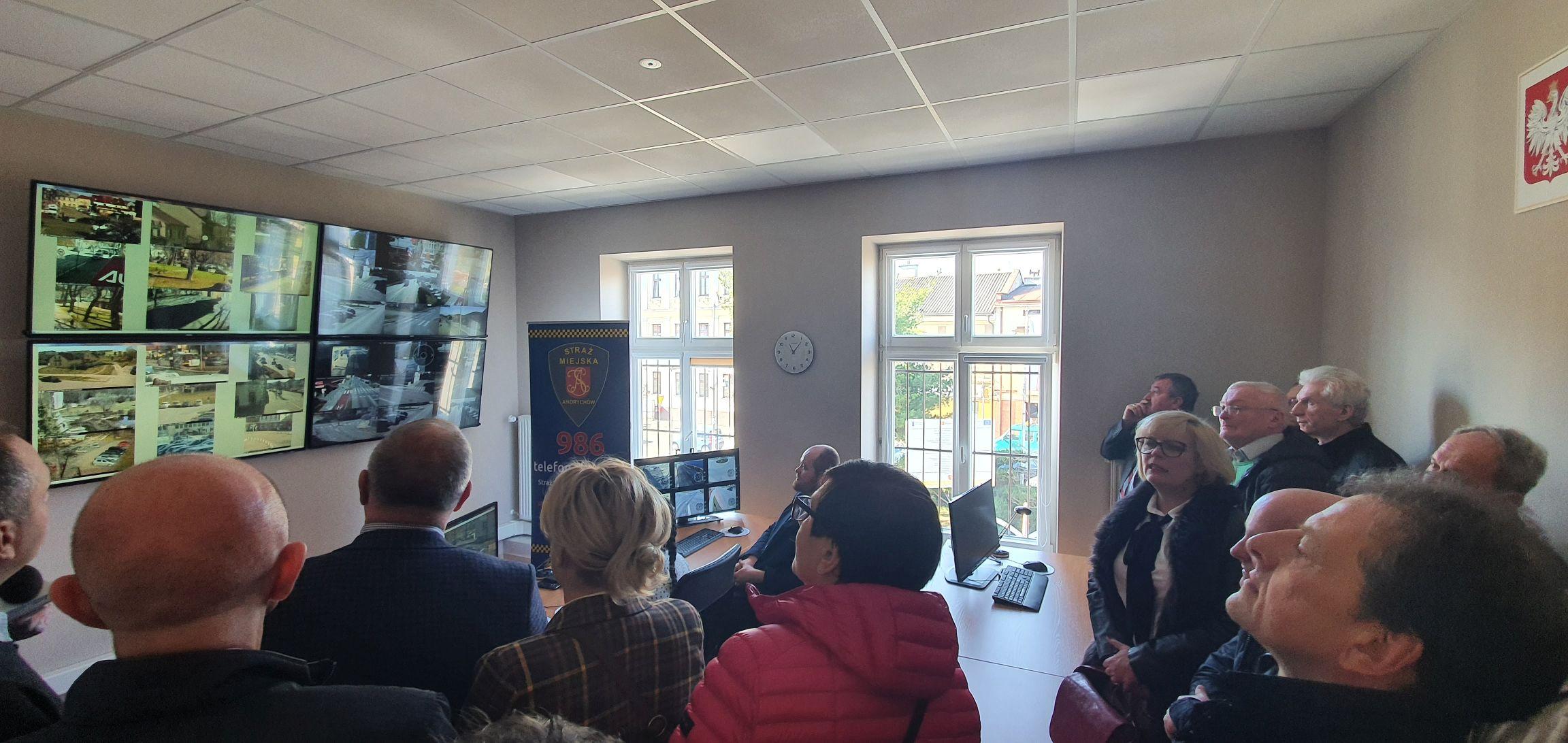 Centrum Monitoringu Andrychowa już gotowe [FOTO] [AKTUALIZACJA]